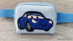 Etui na pompy insulinowe Candy Moda Niebieski samochód
