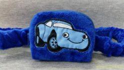 Etui na pompy insulinowe Candy Moda Niebieski samochód 2